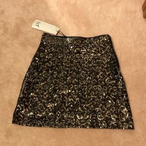 NWT Zara Sequin Skirt
